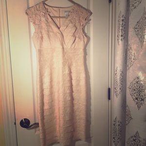 London Times light pink dress